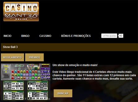 sho wball 3 casino mantra